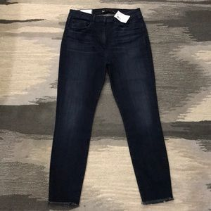 3x1 W3 High Rise Channel Jeans